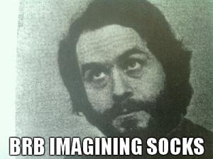 Dreaming of socks!