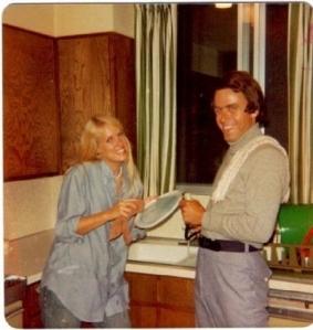 Bundy at party, 1975